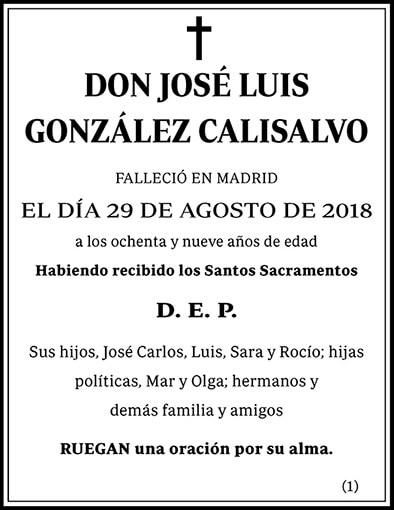 José Luis González Calisalvo